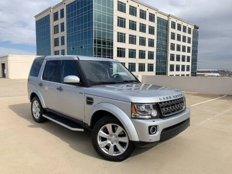 2016 Land Rover LR4 for sale at SIGNATURE Sales & Consignment in Austin TX