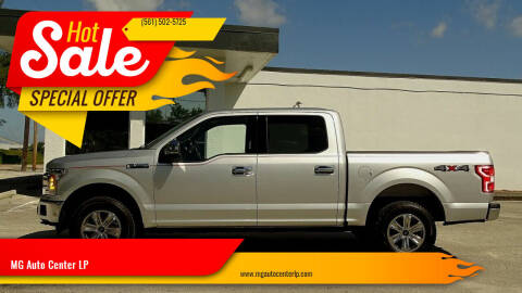 2018 Ford F-150 for sale at MG Auto Center LP in Lake Park FL