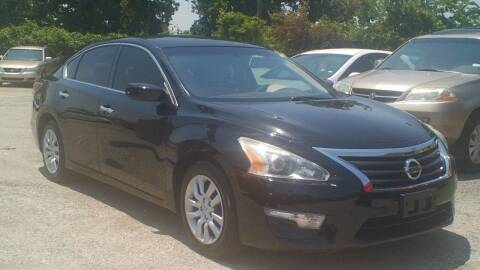 2014 Nissan Altima for sale at Global Vehicles,Inc in Irving TX