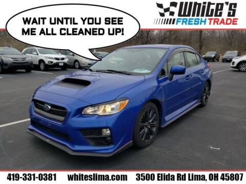 2015 Subaru WRX for sale at White's Honda Toyota of Lima in Lima OH