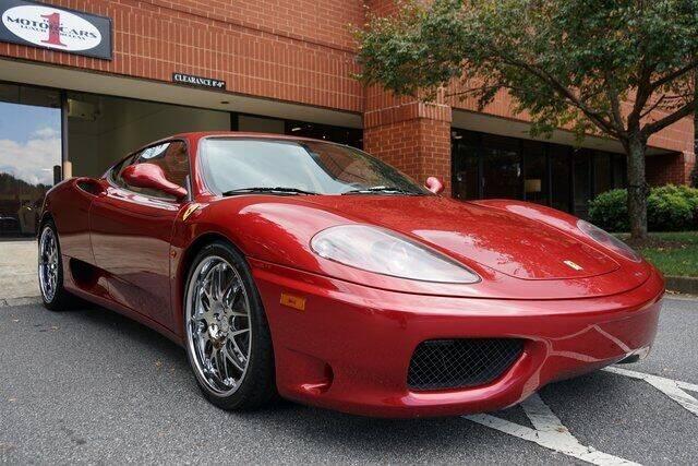 2002 Ferrari 360 Modena for sale at Team One Motorcars, LLC in Marietta GA