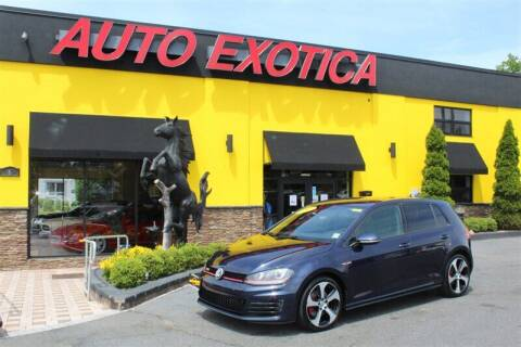 2017 Volkswagen Golf GTI for sale at Auto Exotica in Red Bank NJ