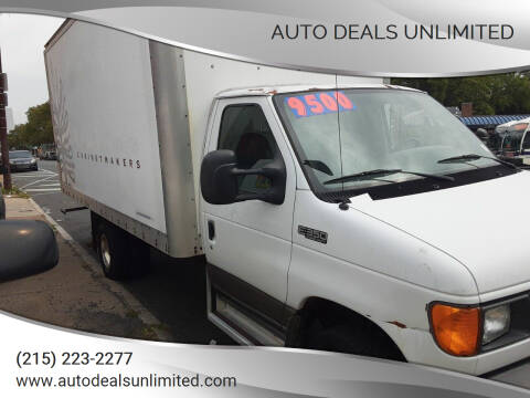 2004 Ford E-Series Chassis for sale at AUTO DEALS UNLIMITED in Philadelphia PA
