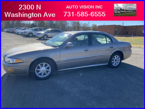 2003 Buick LeSabre for sale at Auto Vision Inc. in Brownsville TN
