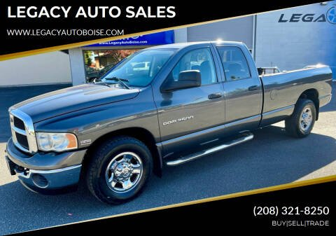 2004 Dodge Ram Pickup 2500 for sale at LEGACY AUTO SALES in Boise ID