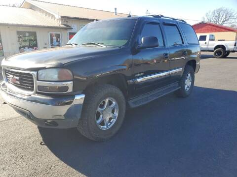 2003 GMC Yukon for sale at Bailey Family Auto Sales in Lincoln AR