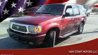 2001 Mercury Mountaineer for sale at New Start Motors LLC - Crawfordsville in Crawfordsville IN
