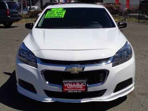 2016 Chevrolet Malibu Limited for sale at Vallejo Motors in Vallejo CA