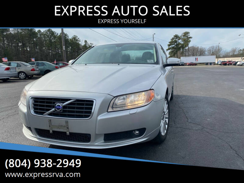 2008 Volvo S80 for sale at EXPRESS AUTO SALES in Midlothian VA