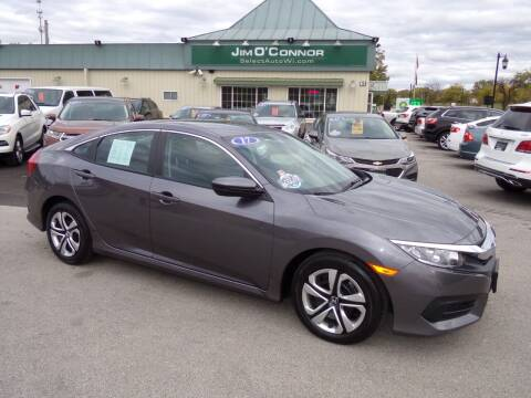 2017 Honda Civic for sale at Jim O'Connor Select Auto in Oconomowoc WI