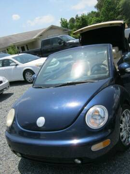 2005 Volkswagen New Beetle Convertible for sale at Speed Auto Inc in Charlotte NC