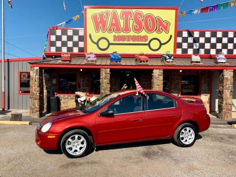 2005 Dodge Neon for sale at Watson Motors in Poteau OK