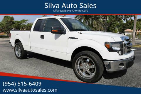 2012 Ford F-150 for sale at Silva Auto Sales in Pompano Beach FL