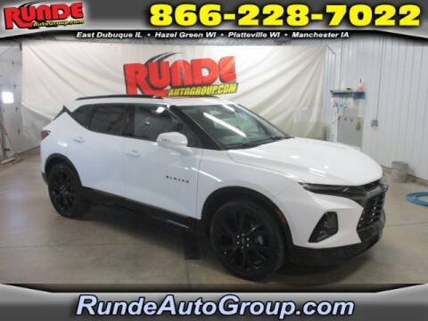 2019 Chevrolet Blazer for sale at Runde Chevrolet in East Dubuque IL