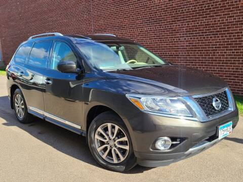 2015 Nissan Pathfinder for sale at Minnesota Auto Sales in Golden Valley MN