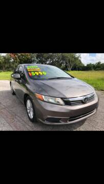 2012 Honda Civic for sale at Auto Export Pro Inc. in Orlando FL
