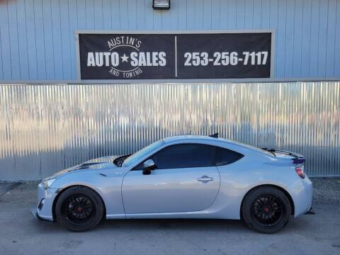 2013 Scion FR-S for sale at Austin's Auto Sales in Edgewood WA