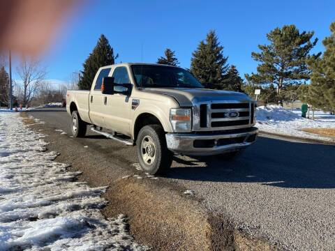 2008 Ford F-350 Super Duty for sale at BELOW BOOK AUTO SALES in Idaho Falls ID