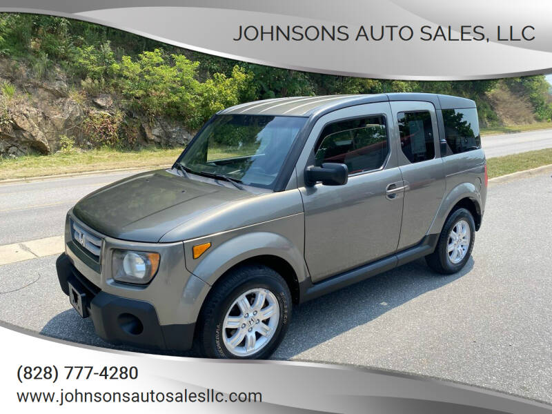 2008 Honda Element for sale at Johnsons Auto Sales, LLC in Marshall NC