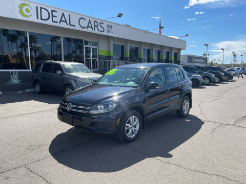 2014 Volkswagen Tiguan for sale at Ideal Cars in Mesa AZ