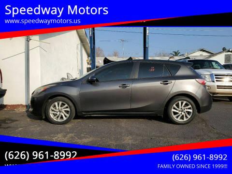 2013 Mazda MAZDA3 for sale at Speedway Motors in Glendora CA