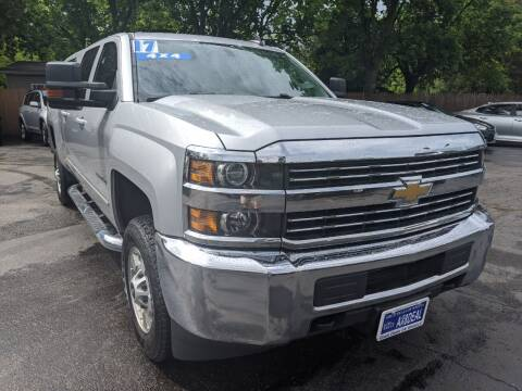 2017 Chevrolet Silverado 2500HD for sale at GREAT DEALS ON WHEELS in Michigan City IN