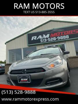 2013 Dodge Dart for sale at RAM MOTORS in Cincinnati OH
