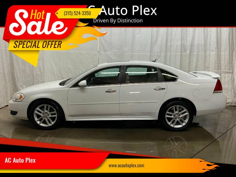 2012 Chevrolet Impala for sale at AC Auto Plex in Ontario NY