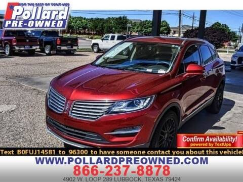 2015 Lincoln MKC for sale at South Plains Autoplex by RANDY BUCHANAN in Lubbock TX