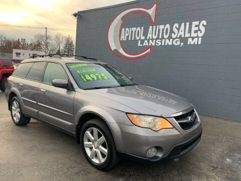2008 Subaru Outback for sale at Capitol Auto Sales in Lansing MI