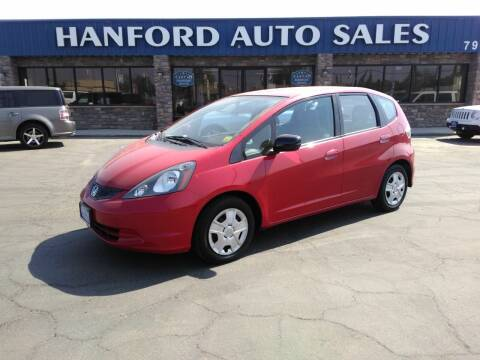 2013 Honda Fit for sale at Hanford Auto Sales in Hanford CA