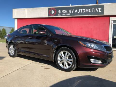 2012 Kia Optima for sale at Hirschy Automotive in Fort Wayne IN