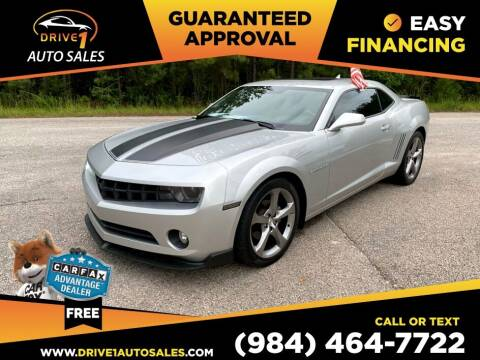 2013 Chevrolet Camaro for sale at Drive 1 Auto Sales in Wake Forest NC