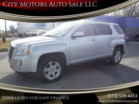 2013 GMC Terrain for sale at City Motors Auto Sale LLC in Redford MI