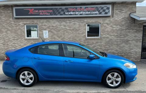 2015 Dodge Dart for sale at Xcelerator Auto LLC in Indiana PA
