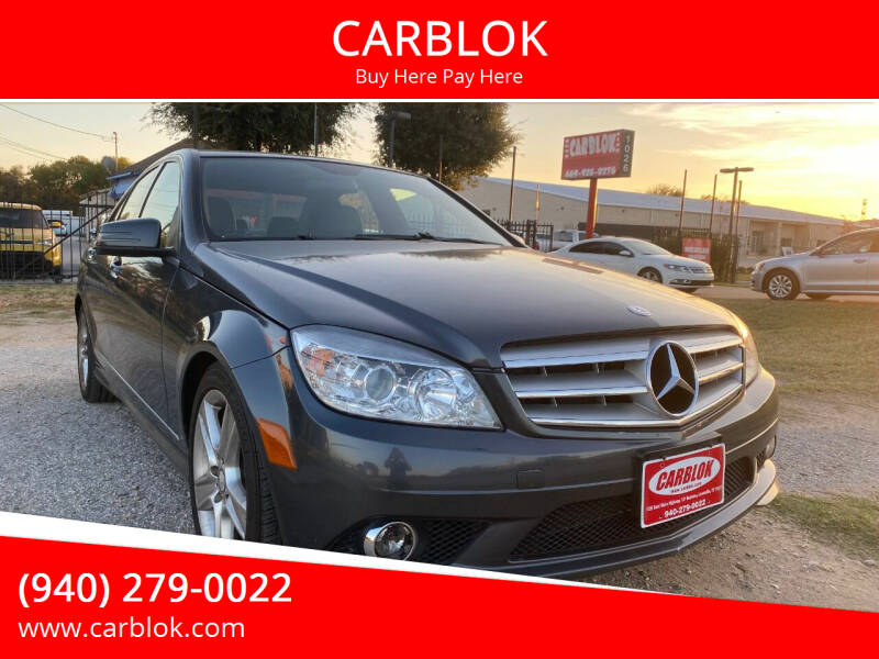 2010 Mercedes-Benz C-Class for sale at CARBLOK in Lewisville TX