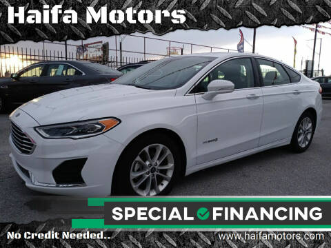 2019 Ford Fusion Hybrid for sale at Haifa Motors in Philadelphia PA
