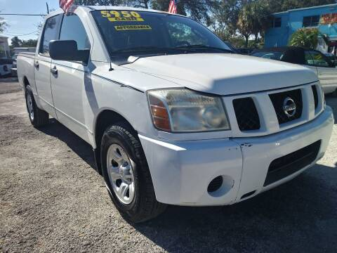 2004 Nissan Titan for sale at AFFORDABLE AUTO SALES OF STUART in Stuart FL