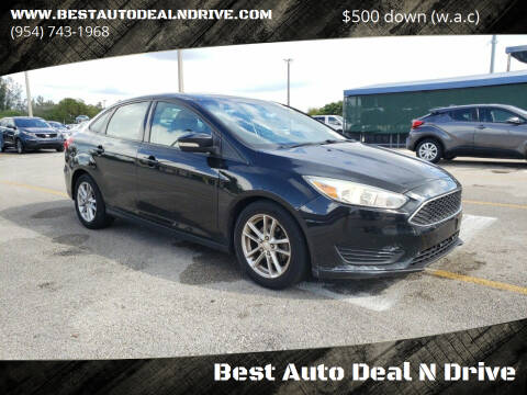 2015 Ford Focus for sale at Best Auto Deal N Drive in Hollywood FL