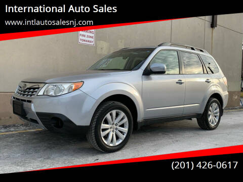 2012 Subaru Forester for sale at International Auto Sales in Hasbrouck Heights NJ