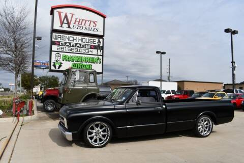 1971 Chevrolet C/K 10 Series for sale at WHITT'S AUTO SALES, LLC in Houston TX
