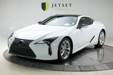 2018 Lexus LC 500 for sale at Jetset Automotive in Cedar Rapids IA