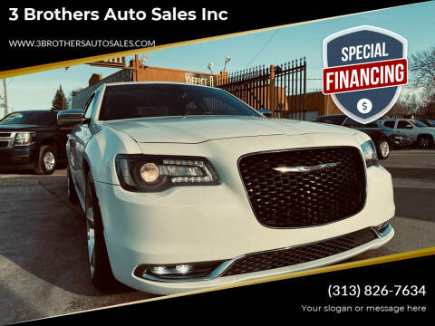 2015 Chrysler 300 for sale at 3 Brothers Auto Sales Inc in Detroit MI