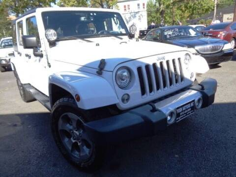 2017 Jeep Wrangler Unlimited for sale at Yosh Motors in Newark NJ