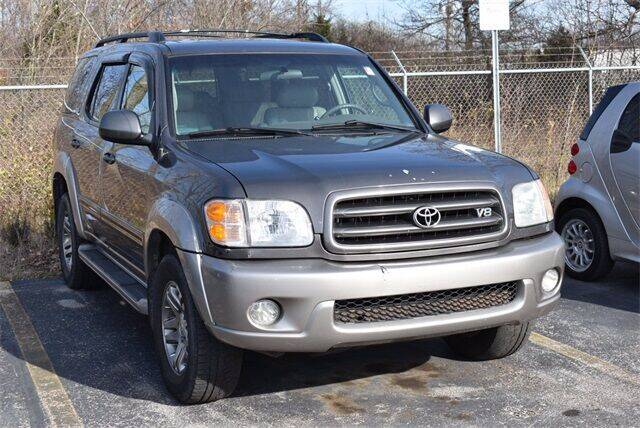 2004 Toyota Sequoia for sale at BOB ROHRMAN FORT WAYNE TOYOTA in Fort Wayne IN