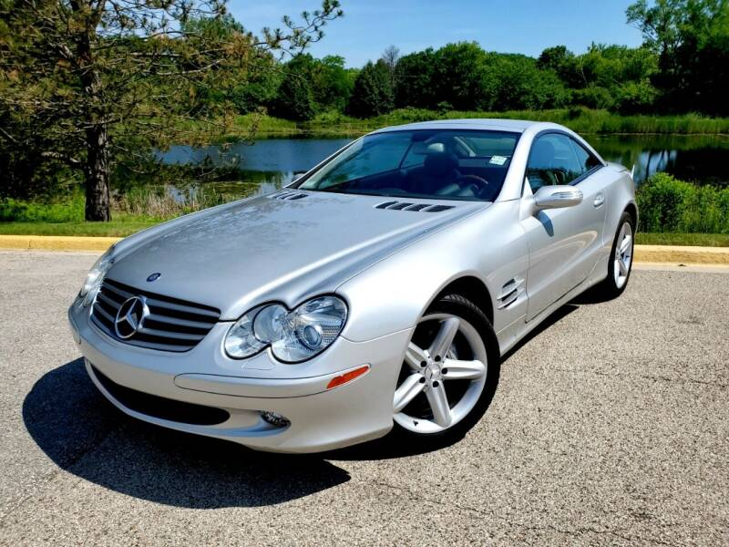 2005 Mercedes-Benz SL-Class for sale at Excalibur Auto Sales in Palatine IL