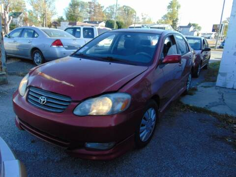 2003 Toyota Corolla for sale at New Start Motors LLC in Montezuma IN