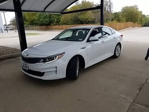 2016 Kia Optima for sale at Jerry's Buick GMC in Weatherford TX
