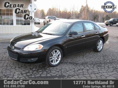 2008 Chevrolet Impala for sale at Cedar Car Co in Cedar Springs MI