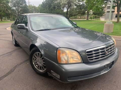 2003 Cadillac DeVille for sale at CarDen in Denver CO